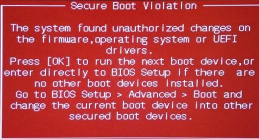 WinSecureBootViolation