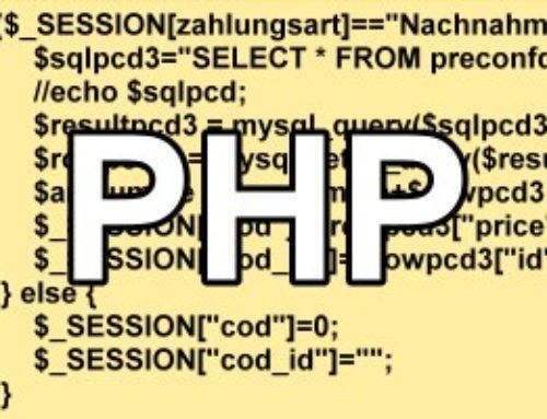 Weiterleitungen mit PHP