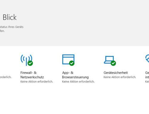 Gute Bewertung für Microsofts Sicherheitslösung Defender