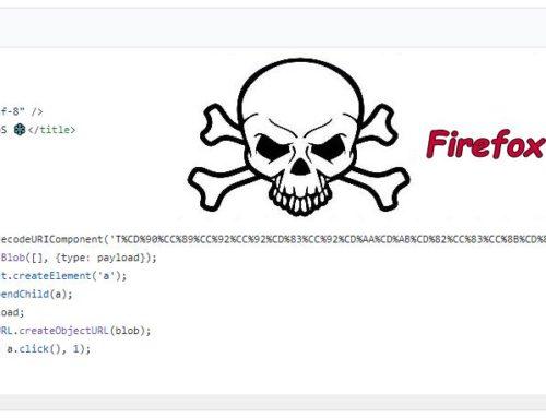 Script lässt Mozillas Browser Firefox abstürzen