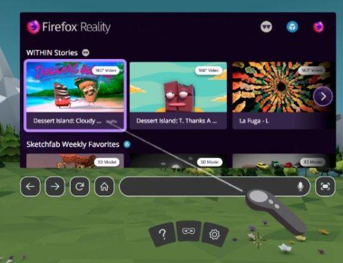 VR-Browser Firefox Reality ist verfügbar