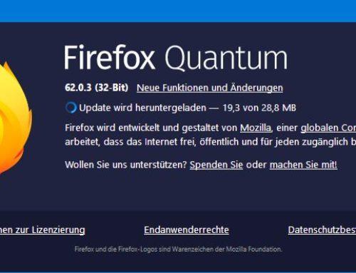 Wichtiges Sicherheitsupdate für Firefox-Browser