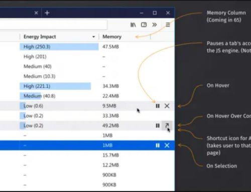 Firefox 64 kommt mit einem eigenen Task-Manager