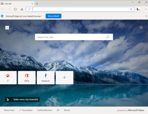 Der erste Edge-Browser mit Chromium-Fundament