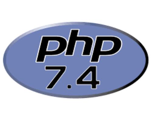 Heute erscheint PHP 7.4