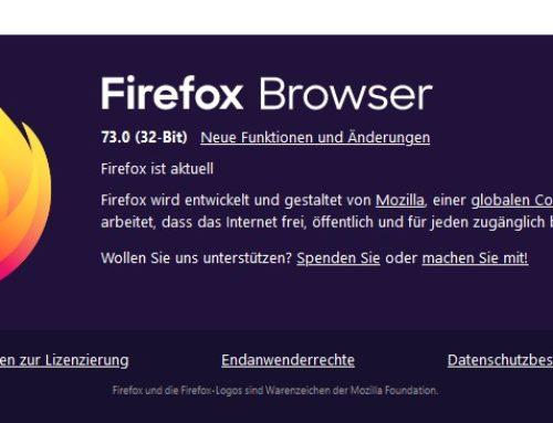 Firefox 73 bringt wichtige Sicherheits-Patches