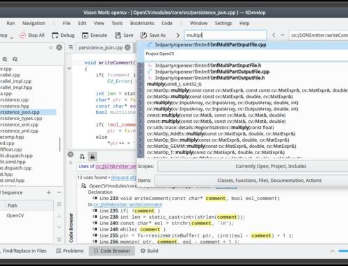 KDevelop 5.5 unterstützt PHP 7.4 und Python 3.8