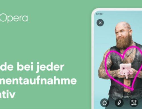 Opera für Android 61 mit WebSnap und Mediaplayer